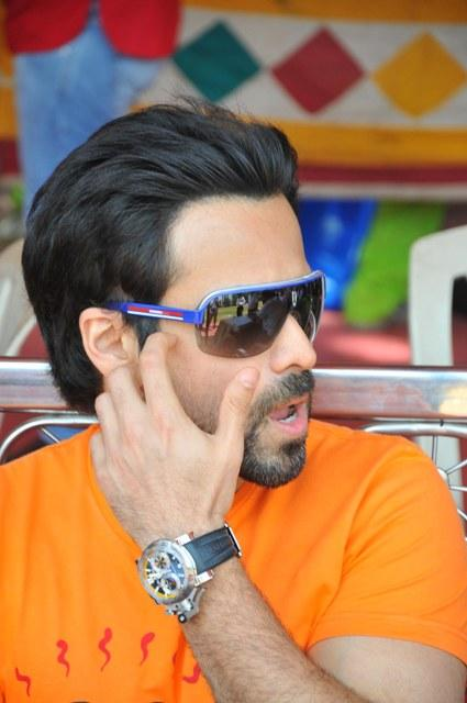 Emraan Stylish Look Photo Clicked At Media Cup Cricket Tournament