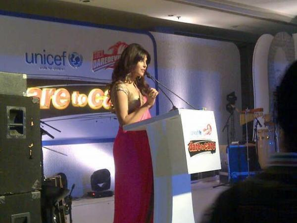 Priyanka Chopra Addresses The Media At UNICEF Charity Auction Event