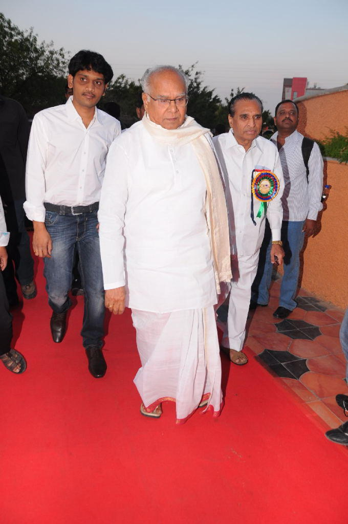 Akkineni Nageswara Rao Attend The TSR-TV9 National Film Awards 2011-2012 Presentation Function