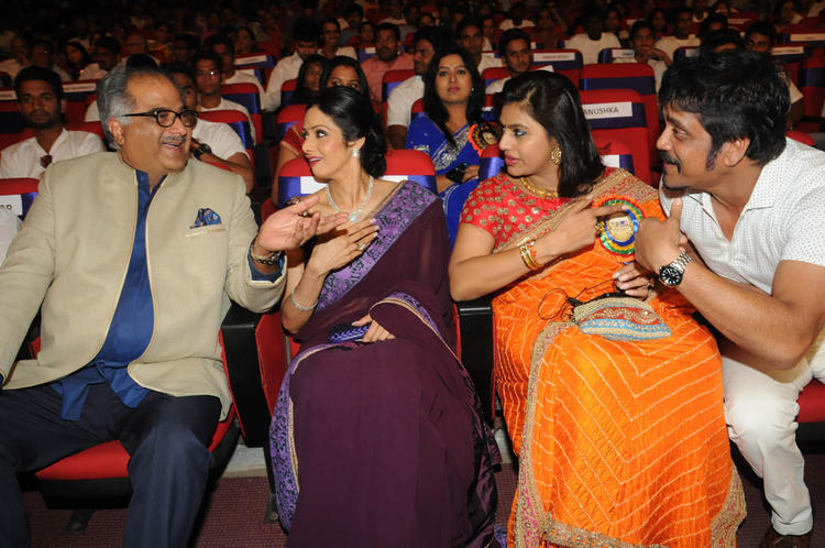 Boney,Sridevi,Nagarjuna And Pinky Graced At TSR-TV9 National Film Awards 2011-2012 Presentation Function