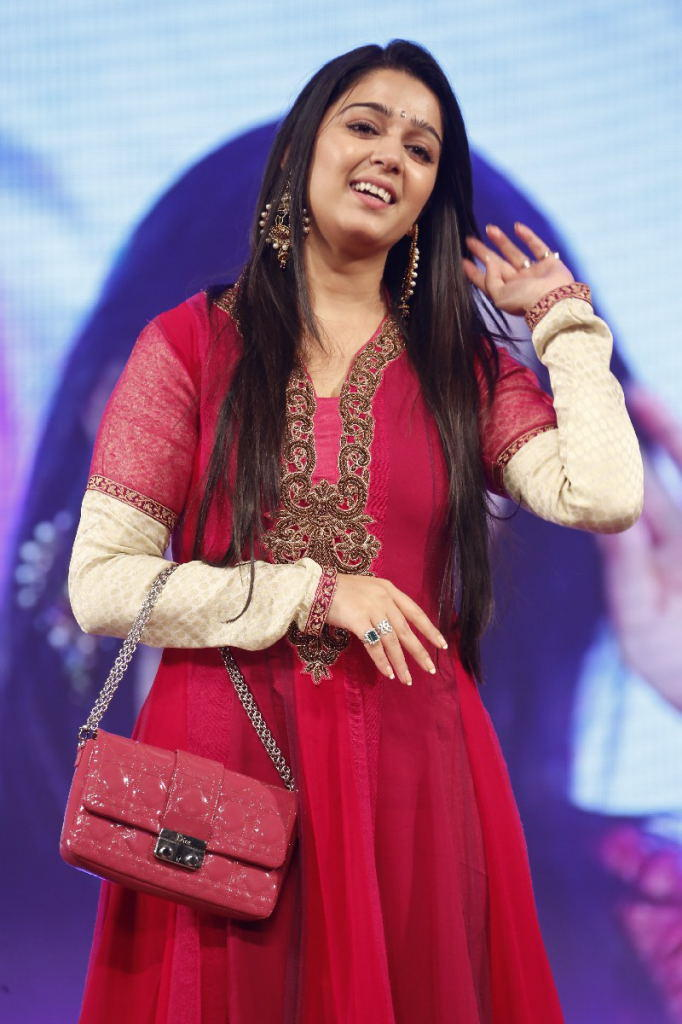 Charmy Kaur Nice And Cool Look At TSR TV9 Film Awards Function