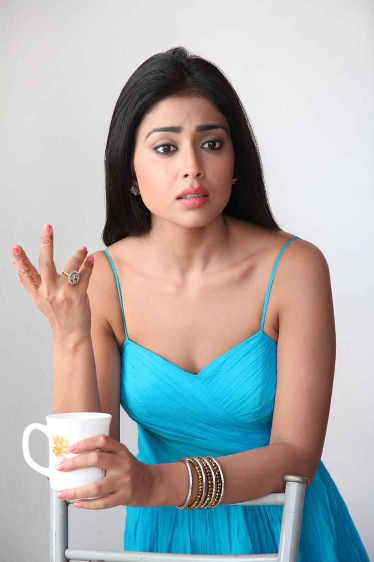 Shriya Saran Latest Hot Still From Pavitra Movie