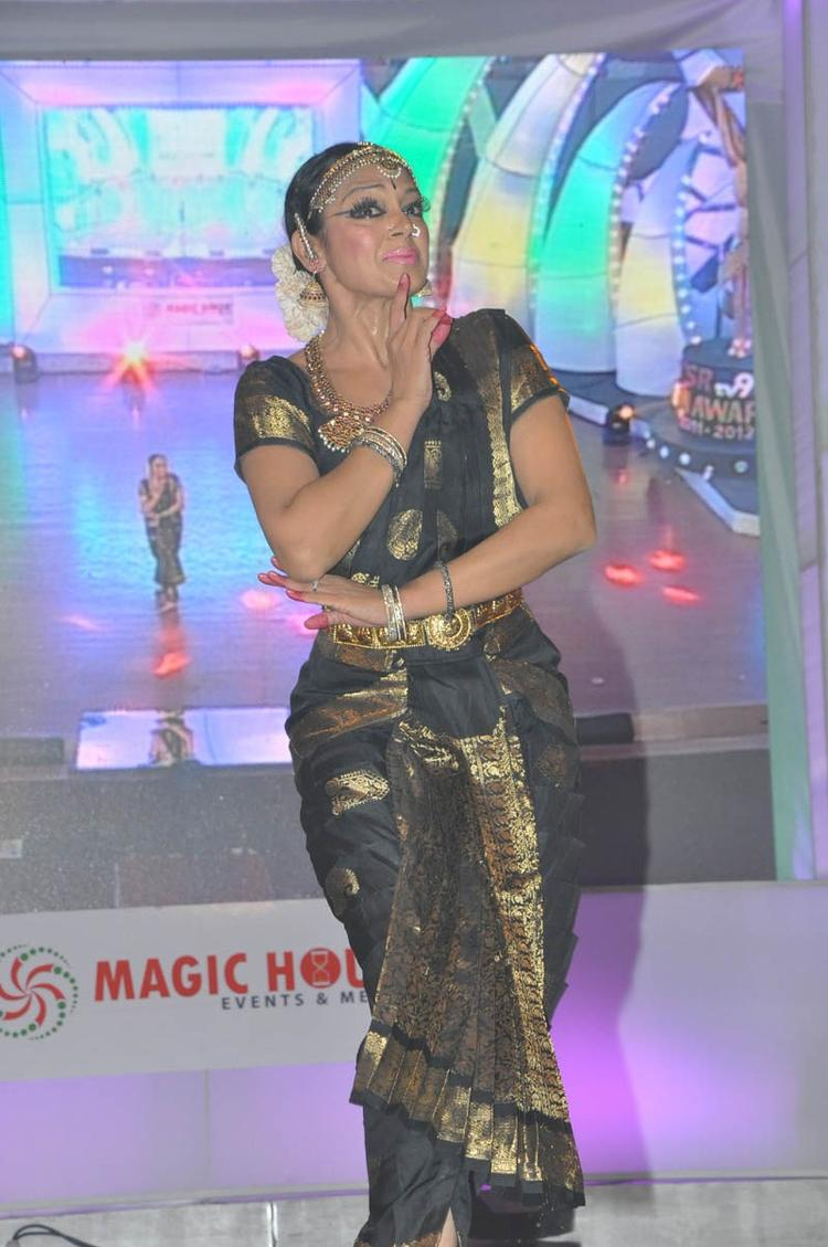 A Dance Performance Still At TSR-TV9 National Film Awards 2011-2012 Presentation Function