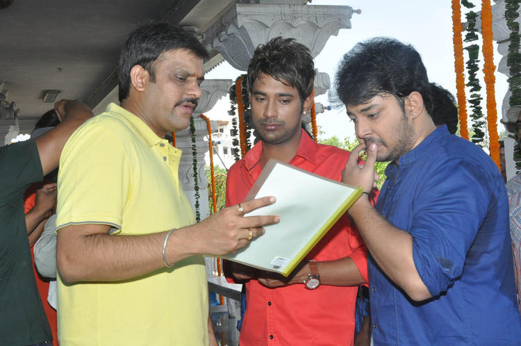 Tanish And Varun Present At Mohan Babu New Movie Opening Event