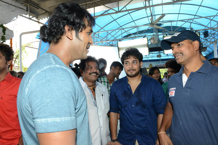 Vishnu And Tanish Attend The Mohan Babu New Movie Opening Event