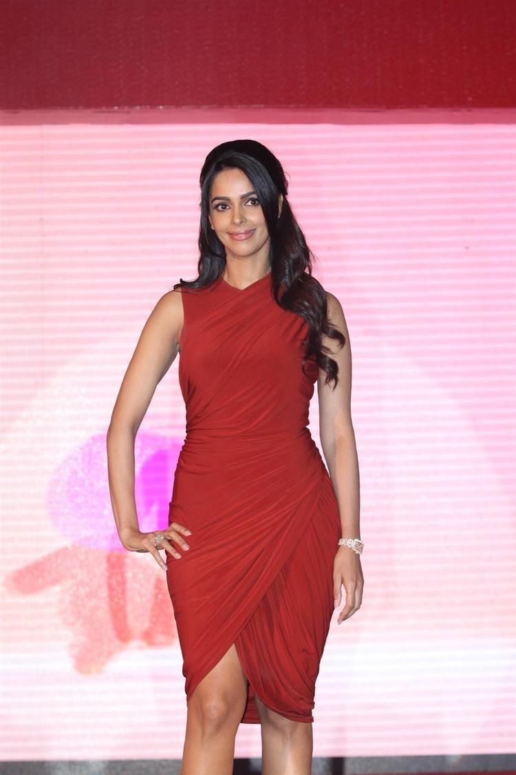 Mallika Sherawat Glamour Look At Life OK Press Meet