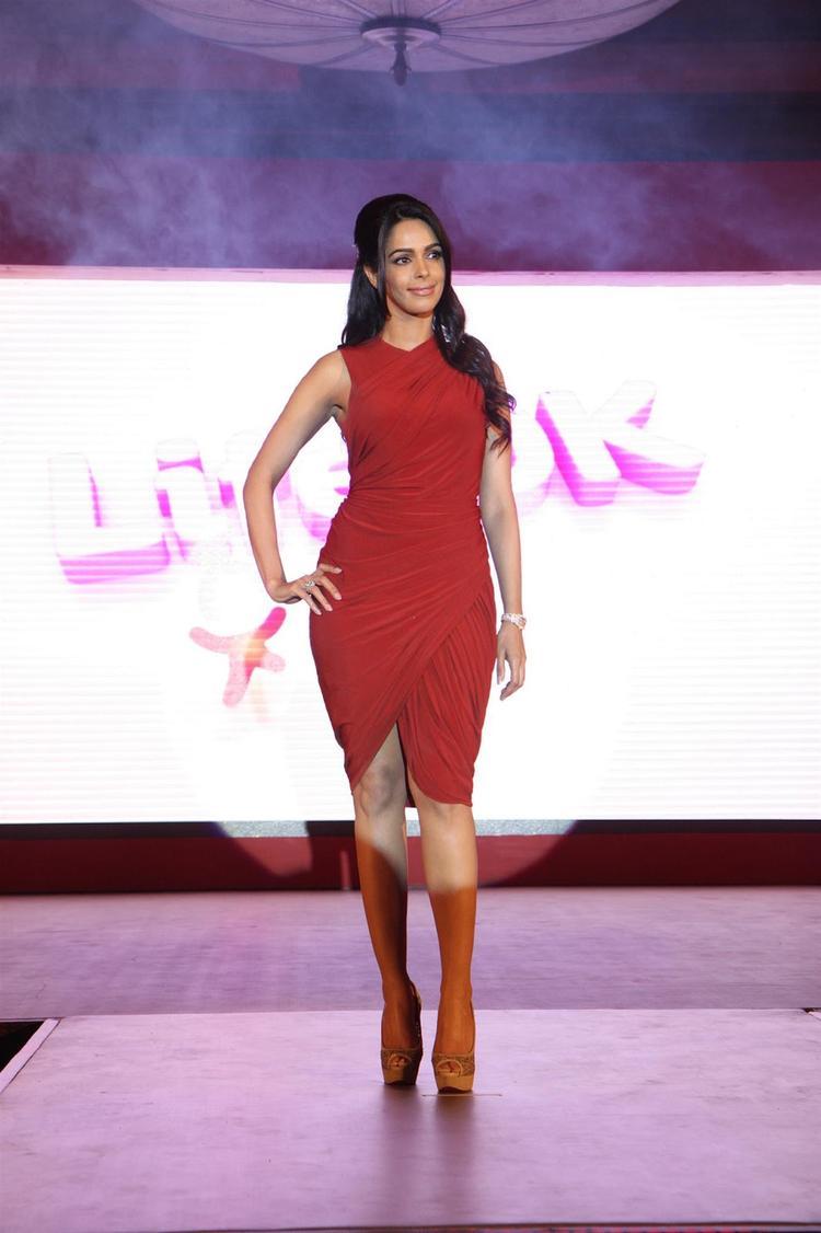 Mallika Sherawat Graced On Ramp At Life OK Press Meet