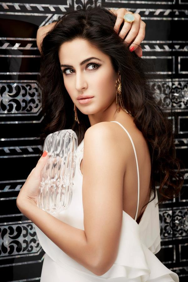 Katrina Kaif Hot Look In White Outfit Photo Shoot For L'officiel