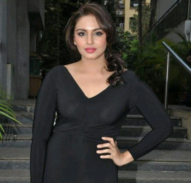 Huma Qureshi Sexy Look In Black Outfit Still