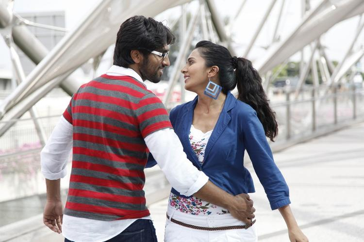 Anish And Sindhu A Song Still From Coffee With My Wife Movie