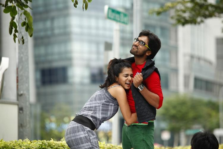 Sindhu And Anish Cool Smiling Look Still From Coffee With My Wife Movie