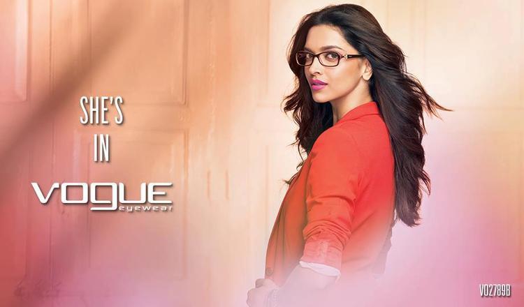 Deepika Padukone Dazzling Look Photo Shoot For Vogue Eyewear