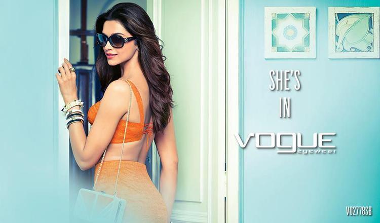 Deepika Padukone Sexy Look Photo Shoot For Vogue Eyewear