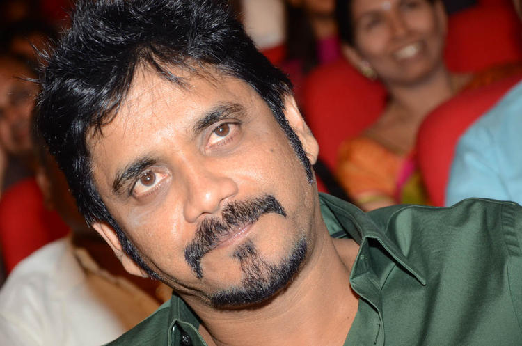Nagarjuna Handsome Look At Tadakha Movie Audio Release Function