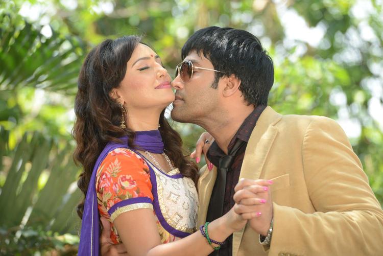 Kavitha And Jai Akash Hot And Sexy Pose At Donga Prema Movie Opening Event