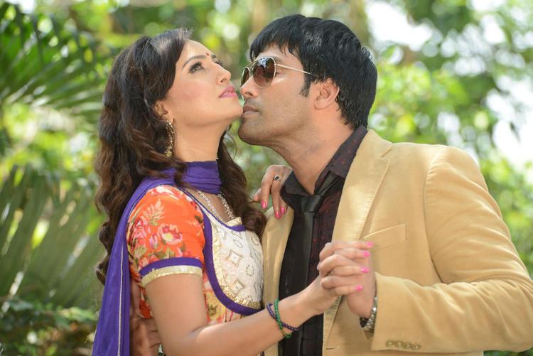 Kavitha And Jai Akash Hot Pose At Donga Prema Movie Opening Event