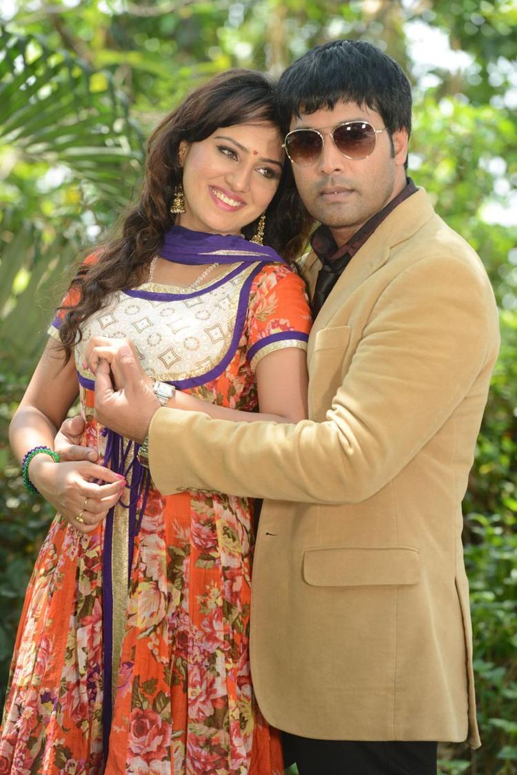 Kavitha And Jai Akash Nice Pose At Donga Prema Movie Opening Event