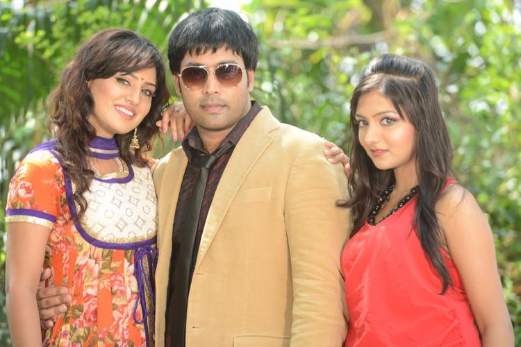 Kavitha,Jai Akash And Khushi Posed At Donga Prema Movie Opening Event