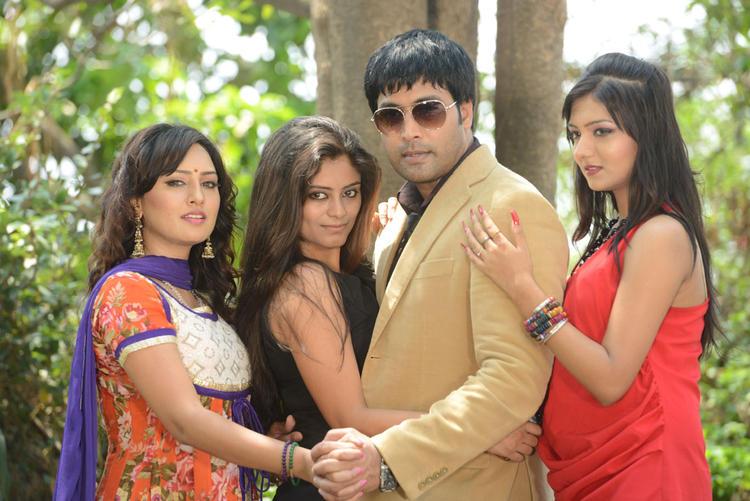 Kavitha,Seethal,Jai Akash And Khushi At Donga Prema Movie Opening Event