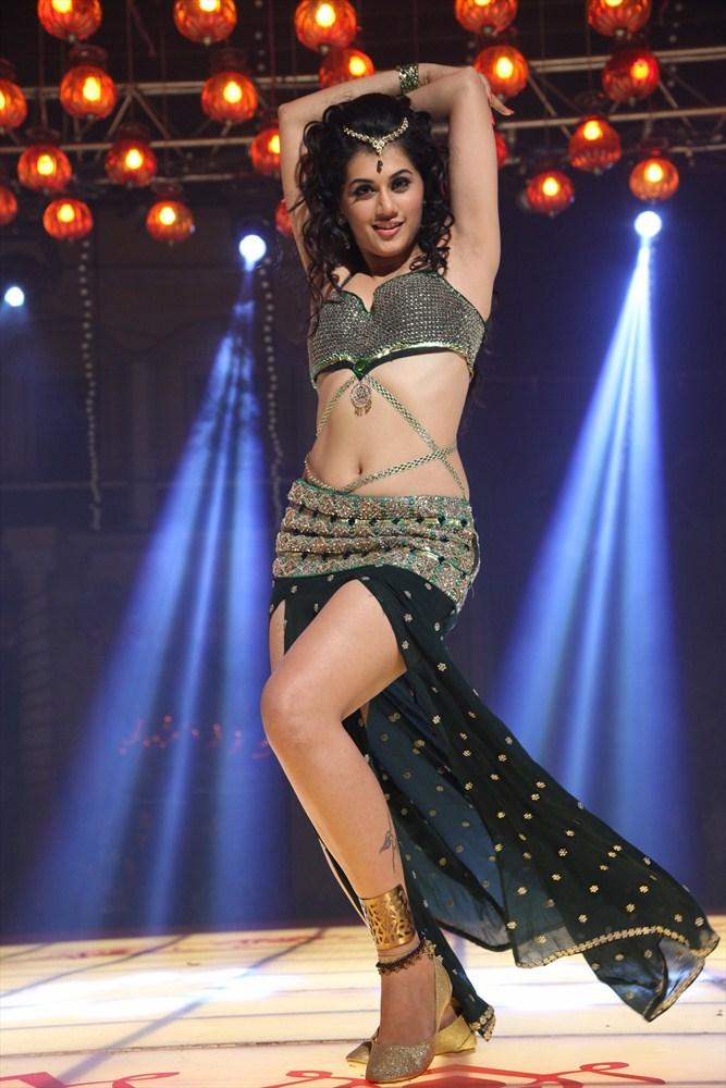 Taapsee Pannu Bold Dancing Pose Still From Shadow Movie