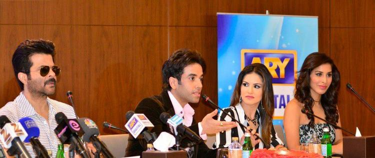 Anil,Tusshar,Sunny And Sophie Attend The Shootout At Wadala Press Conference At Dubai