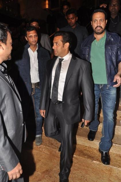 Salman Khan Attend The Jai Maharashtra Channel Launch Function