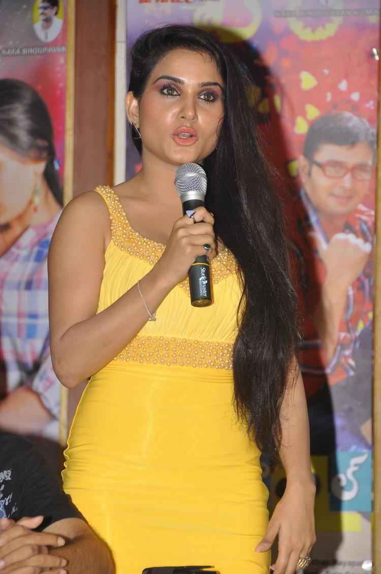 Kavya Singh Speaking Still At Half Boil Movie Audio Launch Function