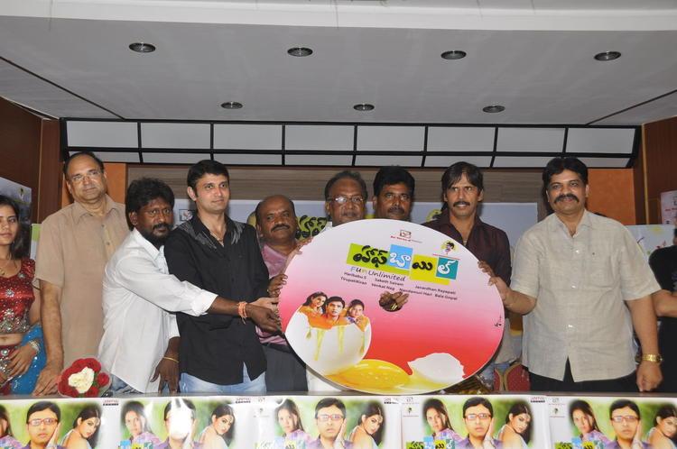 Nara Rohit And T.Prasanna Kumar During The Half Boil Movie Audio Launch Function