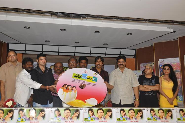 Rohit,T.Prasanna Kumar And Kavya Graced At Half Boil Movie Audio Launch Function