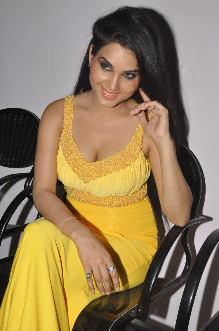 Kavya Singh Graced At Half Boil Movie Audio Launch Function