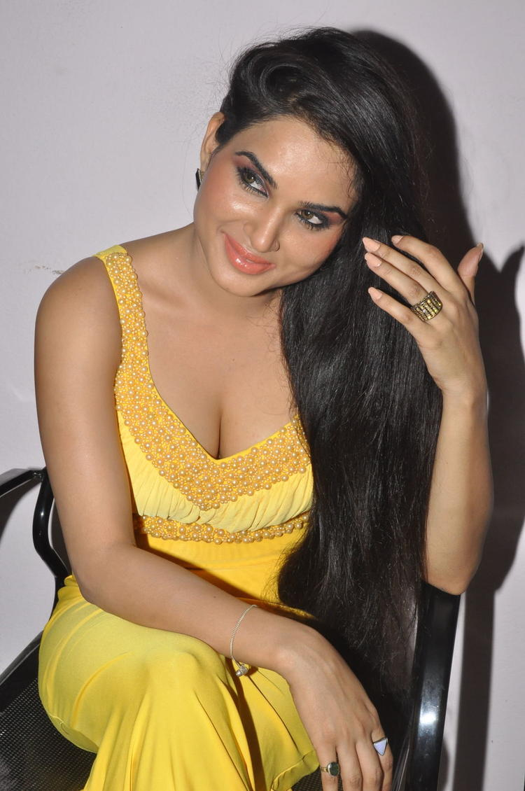 Kavya Singh Spicy Look At Half Boil Movie Audio Launch Function