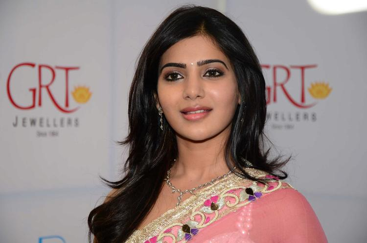 Samantha Glorious Face Look At GRT Jewellers