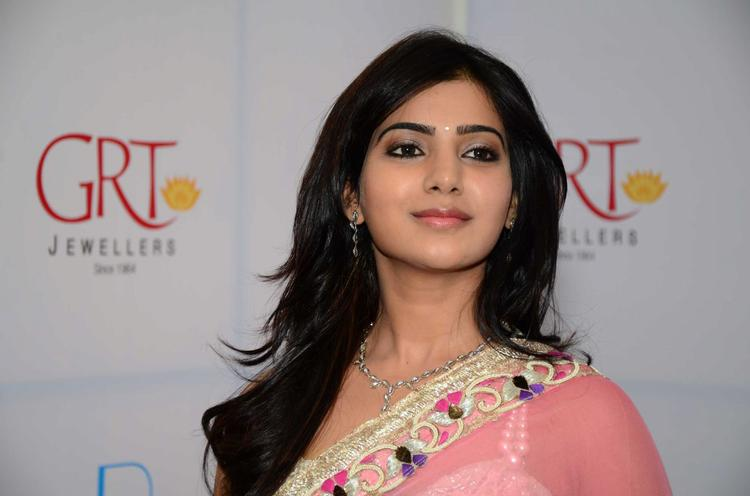 Samantha Stunning Look At GRT Jewellers