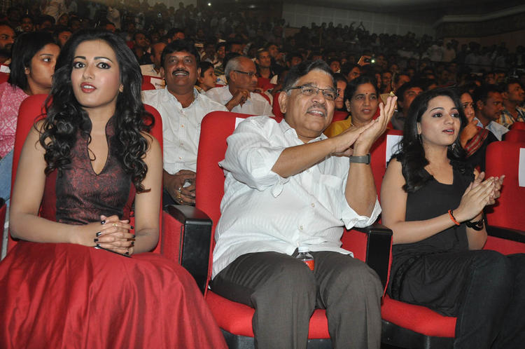 Catherine,Allu And Reshma Present At Iddarammayilatho Audio Launch Function