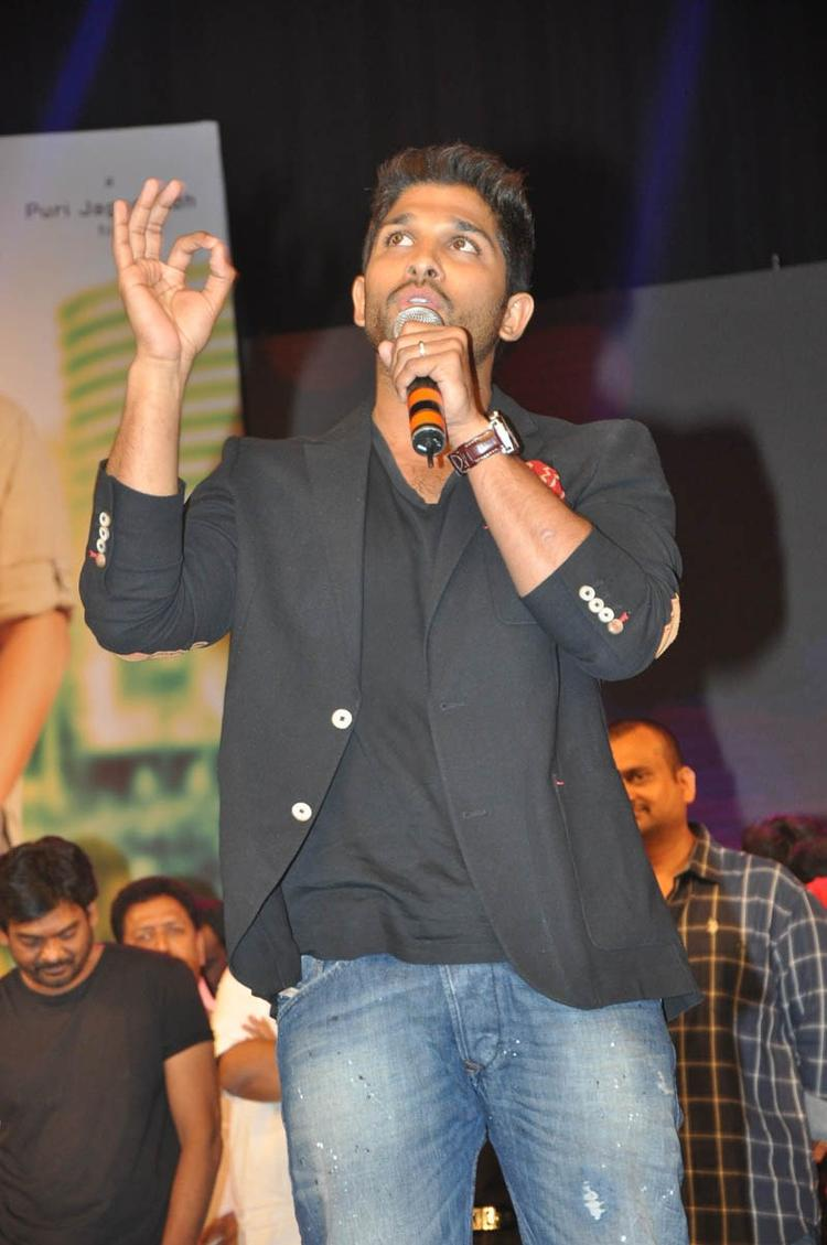 Allu Arjun Graced At Iddarammayilatho Audio Launch Function