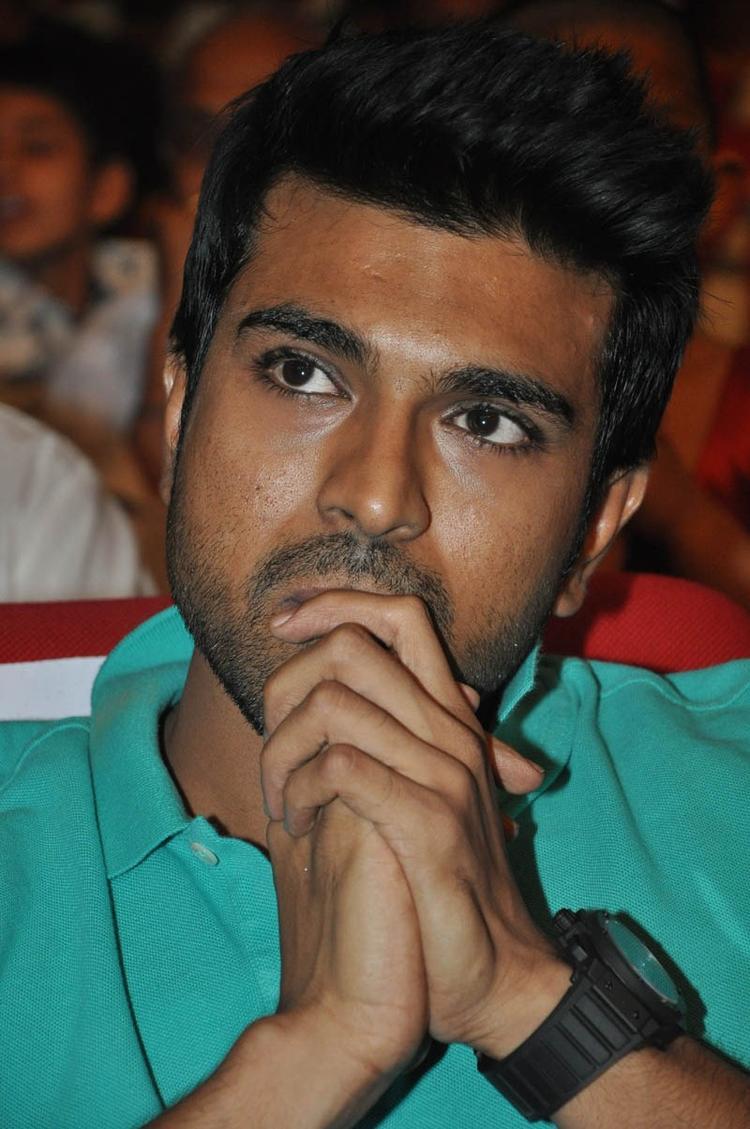 Ram Charan Teja Graced At Iddarammayilatho Audio Launch Function