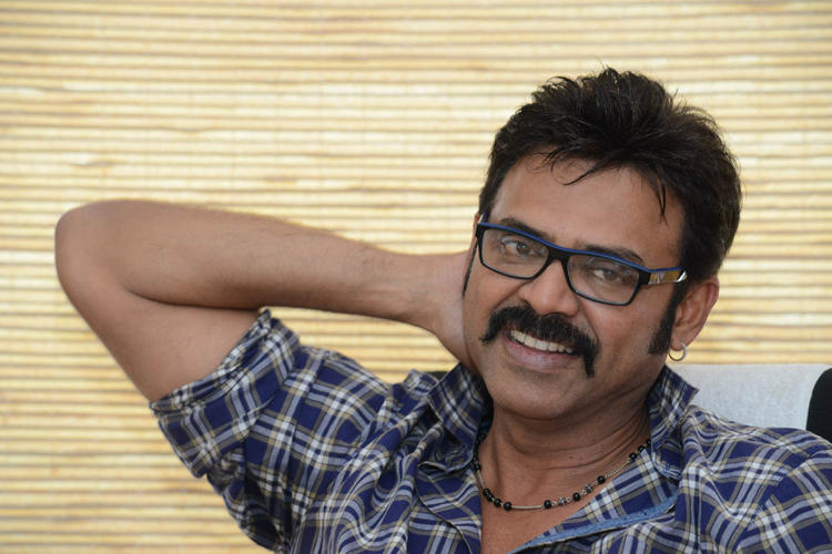 Venkatesh Cool Smiling Look Still