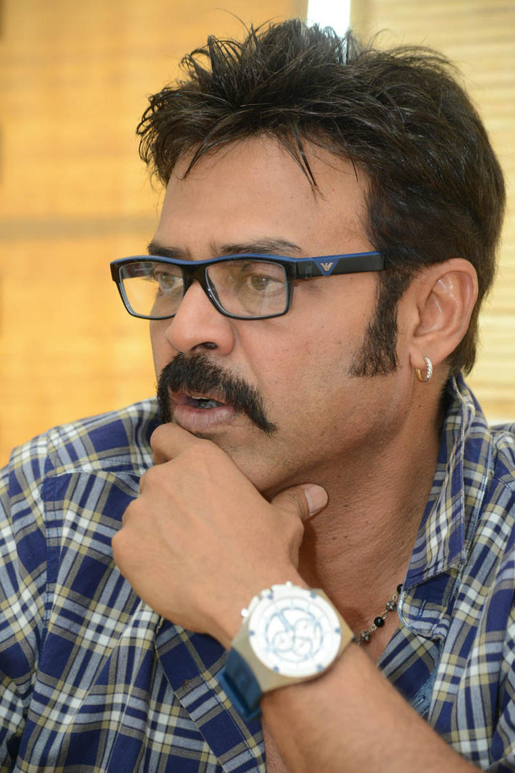 Venkatesh Deep In Thought Look Still