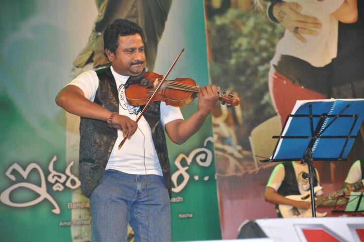 A Celeb Performs At Iddarammayilatho Audio Launch Function
