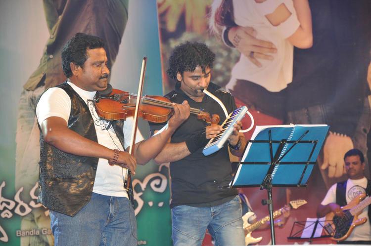 Devi Sri Prasad Performs At Iddarammayilatho Audio Launch Function