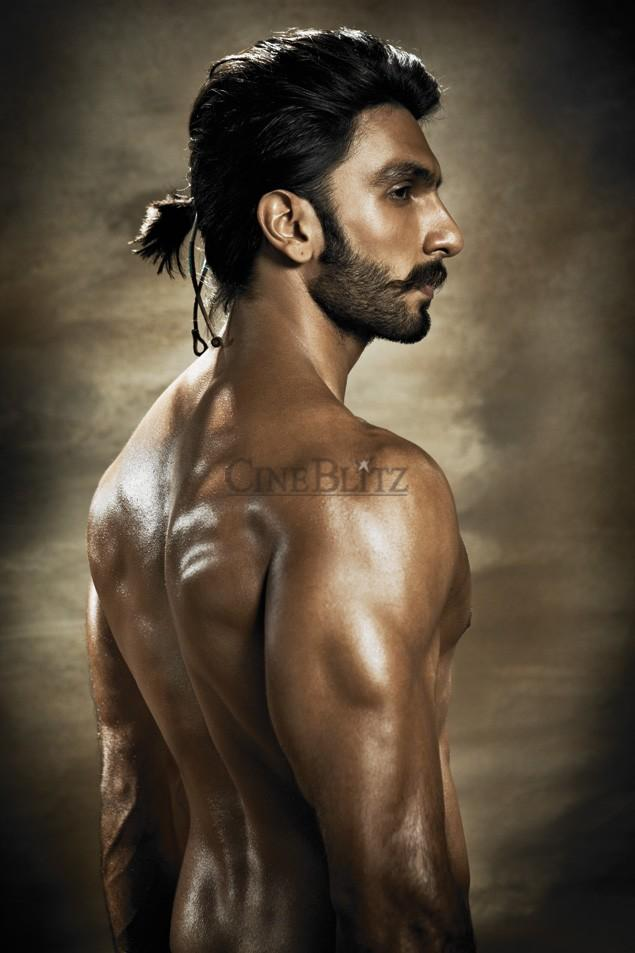 Bollywood Actor Ranveer Latest Look On The Cover Of CineBlitz