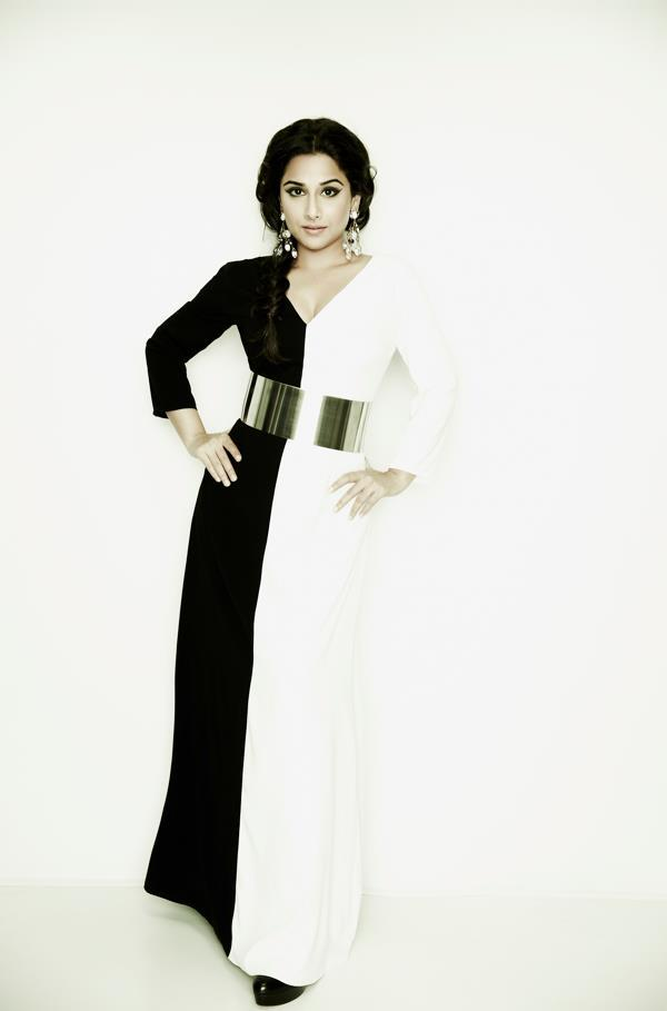 Vidya Balan Glamour Look Photo Shoot For Marie Claire May 2013