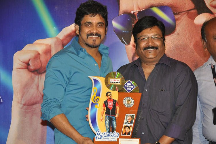 Nagarjuna Greeku Veerudu Platinum Disc Launches