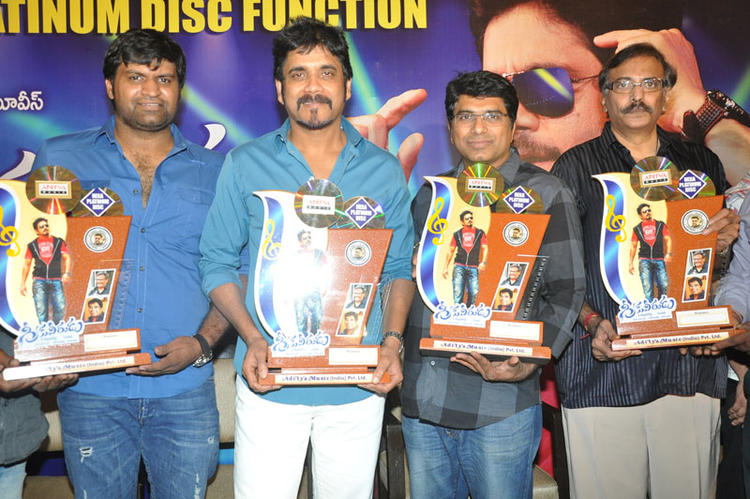 Nagarjuna Launches Greeku Veerudu Hexa Platinum Disc