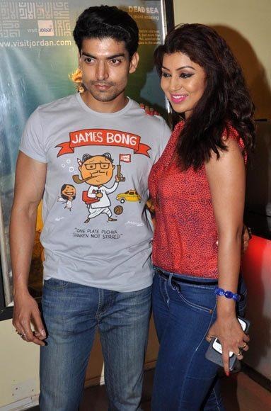 Gurmeet Attend Premiere Of Film Shree With Wife Debina