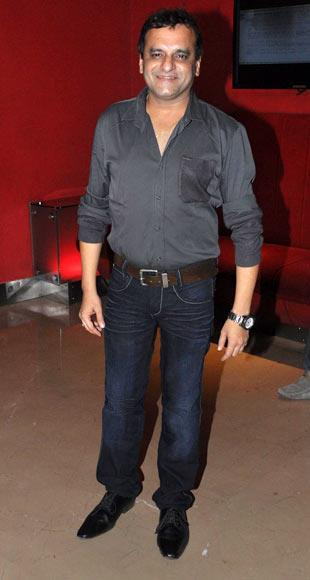 Paresh Ganatra Spotted At The Premiere Of Film Shree