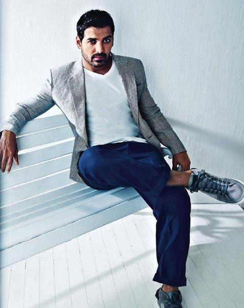 John Abraham Fashionable Look Photo Shoot For Filmfare Magazine May 2013