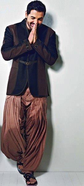John Abraham Traditional Look Nice Photo Shoot For Filmfare Magazine May 2013