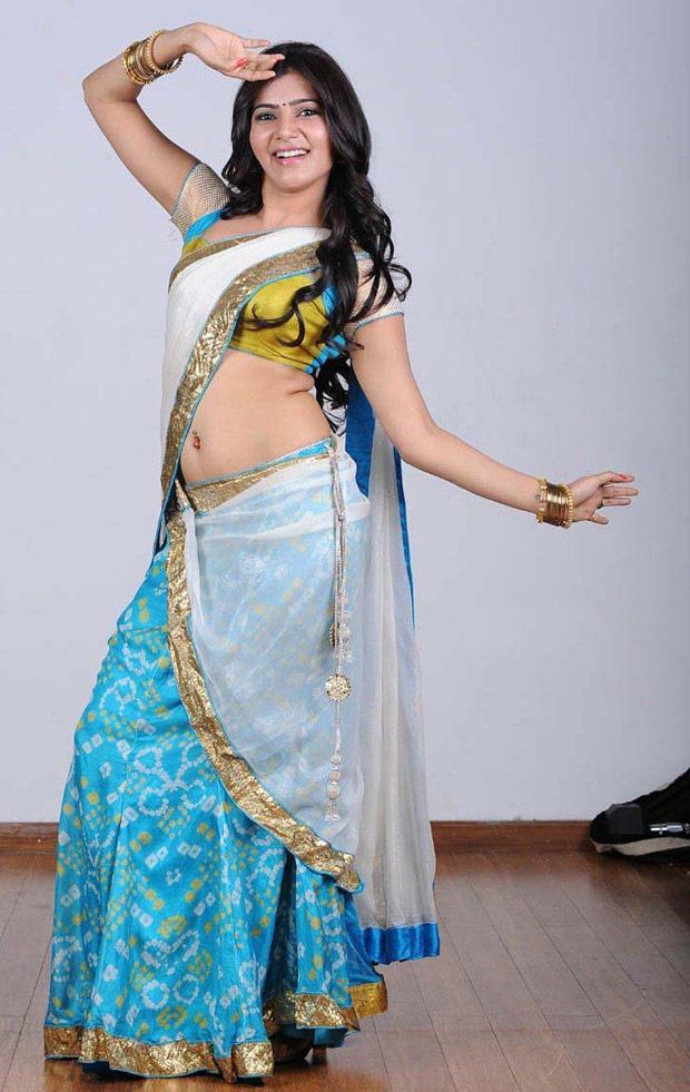 Samantha Ruth Prabhu Exclusive Hot In Saree Still