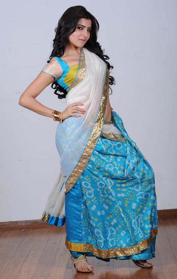 Samantha Ruth Prabhu Hot Look In Saree Still
